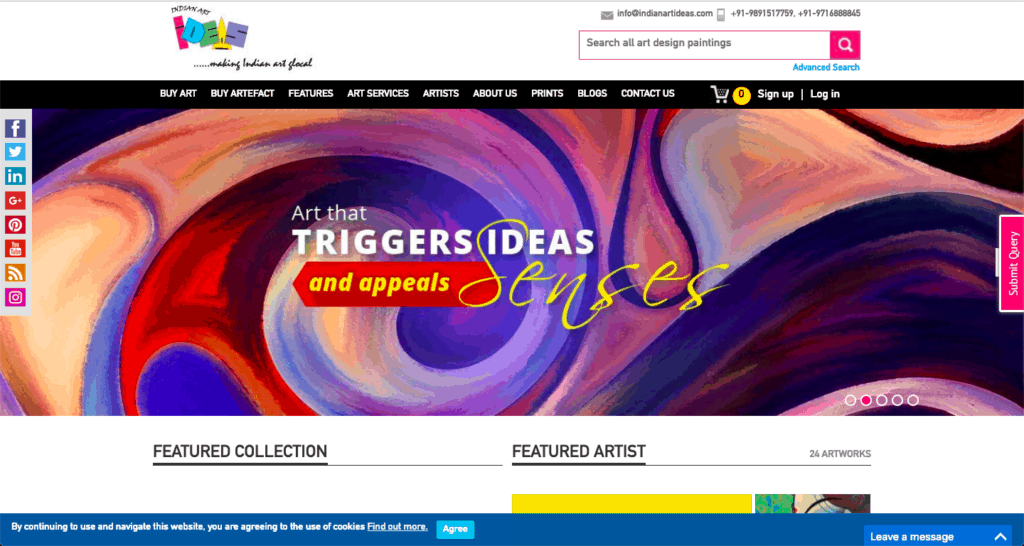 indianartideas.in, indianartideas, buy art online, sell art online,